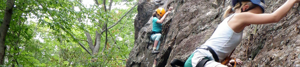Programs at our Indoor Rock Climbing Facility and Outdoor Guiding Service - Queensbury NY
